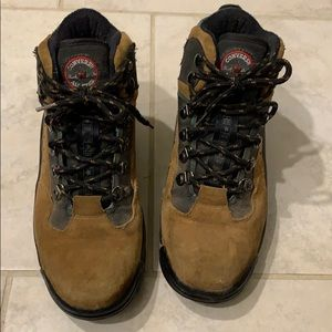 Converse lace up steel toe boots